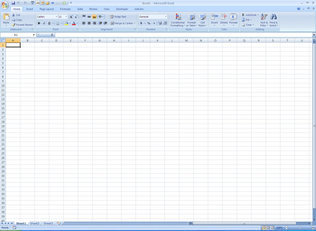Ms Office Excel Templates