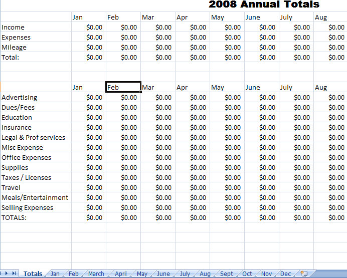 Monthly expense report template excel maxwellsz