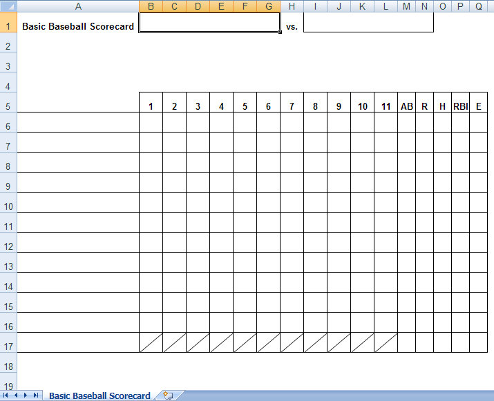Tally Sheet Template in Word Excel Apple Pages Numbers