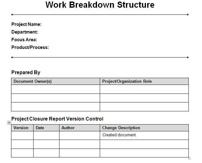 Project Management Templates  Project Management Help