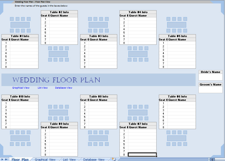 table plans layout learn how sepala