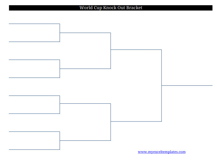 2011 printable blank FIFA World Cup soccer football PDF bracket