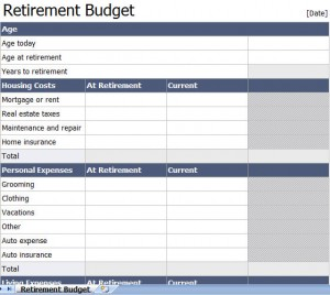 retirement calculator retirement calculator template excel